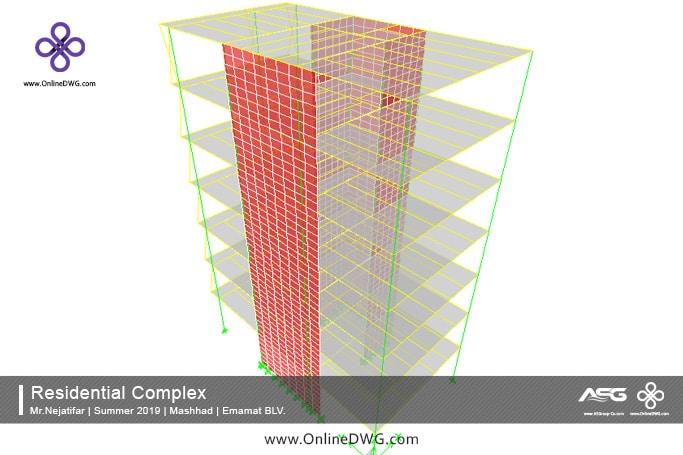 آخرین پروژه های طراحی شده سازه   معماری   تاسیسات   پروژه 18