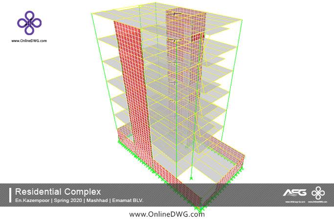 آخرین پروژه های طراحی شده سازه | معماری | تاسیسات | پروژه 24